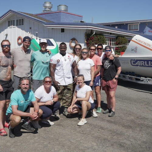 GPR 2021 Meet and Greet Chef Rush and all rowers