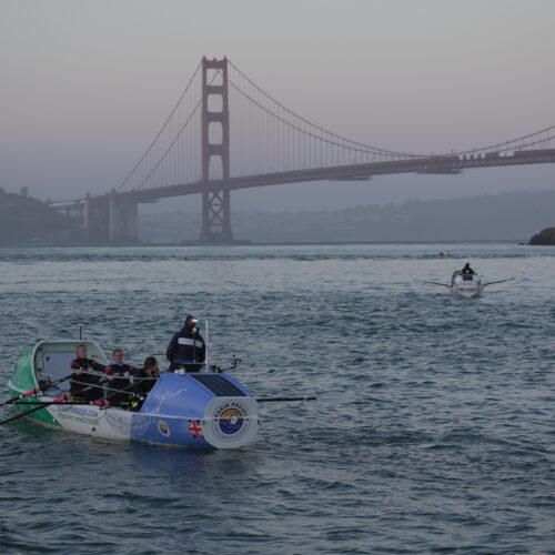 GPR 2021 boats lining up for race start