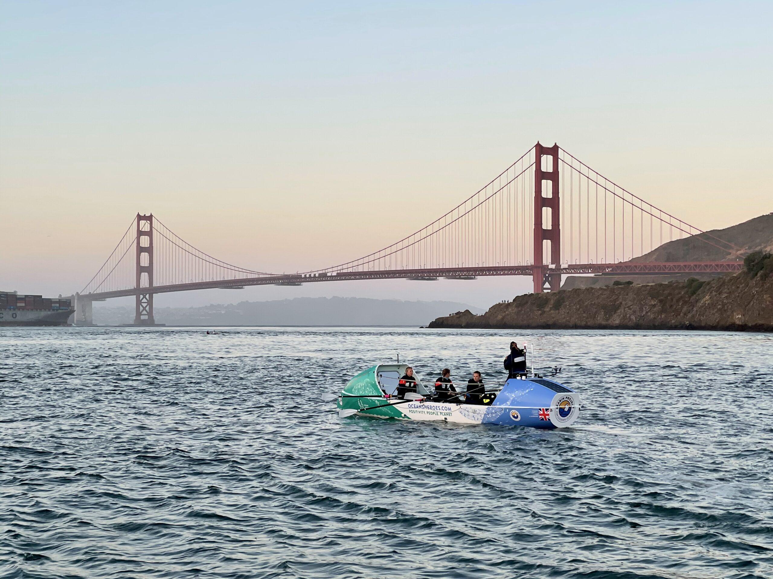GPR Race Start Line Golden Gate Bridge