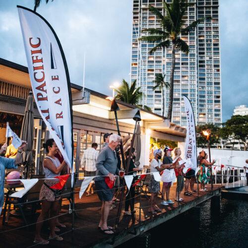 GPR 2021 Waikiki Yacht Club Finish Celebration