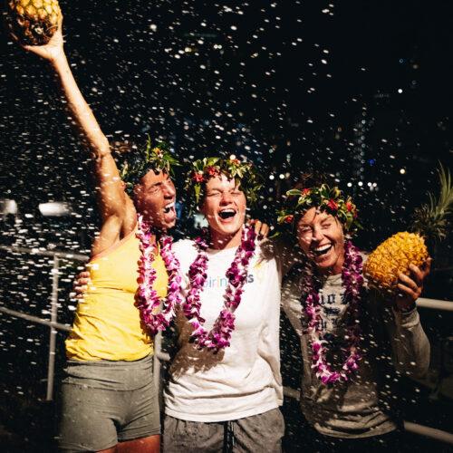 GPR 2021 Girls Who Dare finish celebration