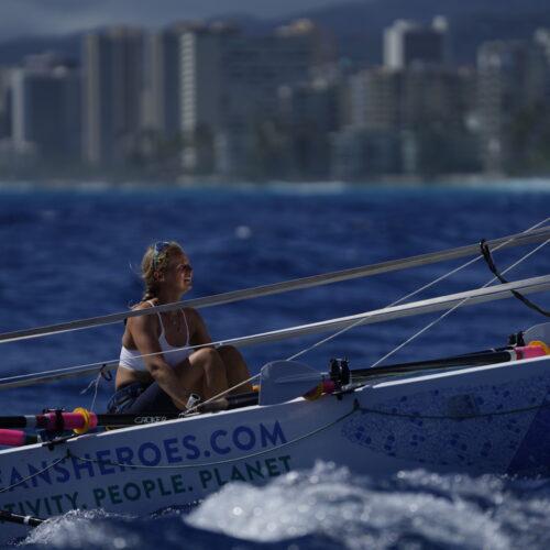 Ocean Sheroes rowing