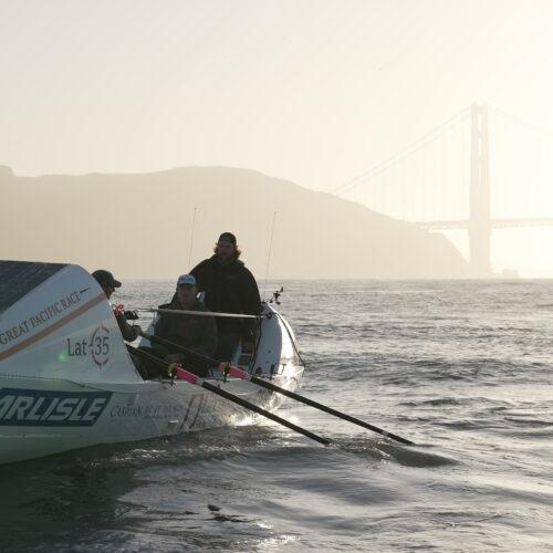 GPR 2021 Latitude 35 at Golden Gate Bridge Race Start